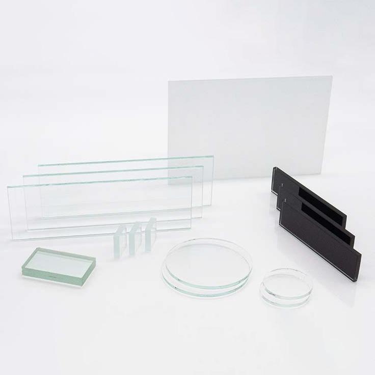 Próbki testowe szklane dobadań